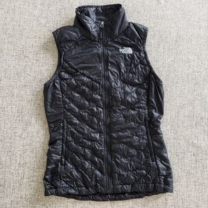 The North Face Thermoball Quilted Black Vest